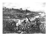 Battle of Paceo Art Print