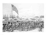Landing of the Troops at Vera Cruz, Mexico Art Print