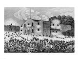 The Siege of the Alamo Art Print