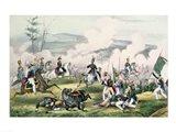 The Battle of Palo Alto, California, 8th May 1846 Art Print