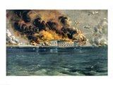 Bombardment of Fort Sumter Art Print