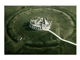 Stonehenge from the air Art Print