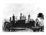 Smithsonian Institution from the South West Art Print