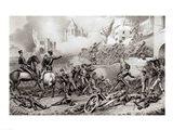 Storming of Monterey Art Print