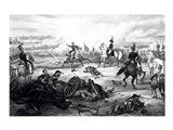 Battle of Mill El Rey Art Print