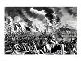 Battle of Molino del Rey Art Print