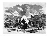 Great Battle at Wilson's Creek Art Print