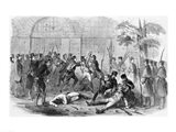 Harper's Ferry Insurrection: Bringing the Prisoners Out of the Engine-House Art Print