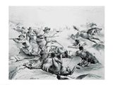 The Last Battle of General Custer Art Print
