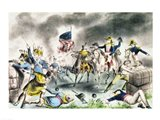 The Battle of New Orleans, January 8th 1814 Art Print