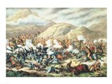 The Battle of Little Big Horn, June 25th 1876 Art Print