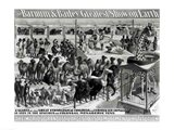 'The Barnum and Bailey Greatest Show On Earth' Curious Animals Art Print