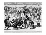 Poster Advertising, 'The Barnum and Bailey Greatest Show on Earth Art Print