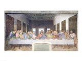The Last Supper, 1495-97 (post restoration) Art Print
