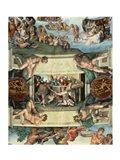 Sistine Chapel Ceiling (1508-12): The Sacrifice of Noah, 1508-10 Art Print