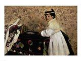 Portrait of Hortense Valpincon as a Child, 1869 Art Print