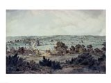 The Valley of the Stour, with Stratford St.Mary in the distance Art Print