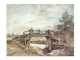 A Bridge Over the Stour Art Print