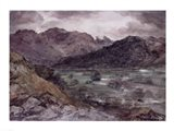 View in Borrowdale Art Print