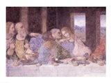 The Last Supper, (post restoration) C Art Print