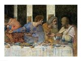 The Last Supper, (post restoration) E Art Print