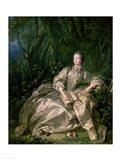Madame de Pompadour, 1758 Art Print