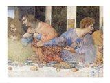 The Last Supper, Detail Art Print