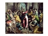 Christ Driving the Traders from the Temple, c.1600 Art Print