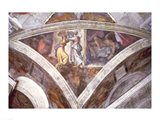 Sistine Chapel Ceiling: Judith Carrying the Head of Holofernes Art Print