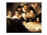 The Anatomy Lesson of Dr. Nicolaes Tulp, 1632 Art Print