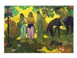 Rupe Rupe (Fruit Gathering), 1899 Art Print