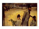 Place de la Concorde, 1875 Art Print