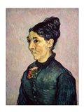 Portrait of Madame Jeanne Lafuye Trabuc, 1889 Art Print