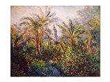 Garden in Bordighera, Impression of Morning, 1884 Art Print