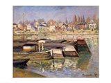 Seine at Asnieres, 1873 Art Print