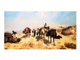 Crossing the Desert Art Print
