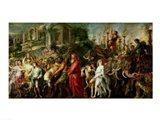 A Roman Triumph, c.1630 Art Print