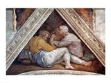 Sistine Chapel Ceiling: The Ancestors of Christ Art Print