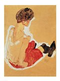 Seated Woman, 1911 Art Print