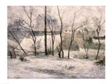 Winter Landscape, 1879 Art Print