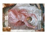 Sistine Chapel Ceiling: God Dividing Light from Darkness Art Print