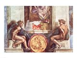 Sistine Chapel Ceiling: Ignudi Art Print