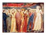 Joseph of Arimathea preaching to the inhabitants of Britain Art Print