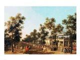 Vauxhall Gardens: the Grand Walk Art Print