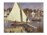 The Seine at Argenteuil, 1874 Art Print