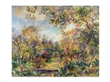 Landscape at Beaulieu, c.1893 Art Print