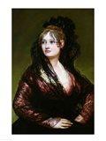 Dona Isabel de Porcel Art Print