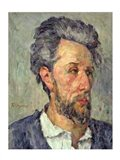 Portrait of Victor Chocquet Art Print