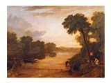 The Thames near Windsor, c.1807 Art Print