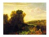 The Thames at Weybridge Art Print